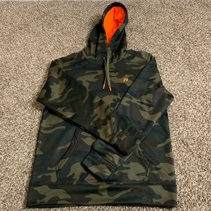 Russell Atletic Camoflauge Hoodie Size M Men's